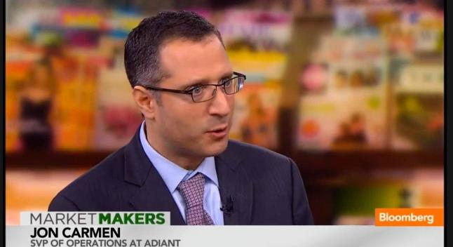 Jon Carmen at Bloomberg TV about Native Advetising